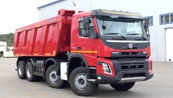Spare parts for Volvo dump trucks