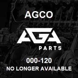 000-120 Agco NO LONGER AVAILABLE | AGA Parts