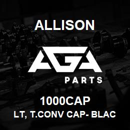 1000CAP Allison LT, T.CONV CAP- BLACK | AGA Parts