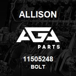 11505248 Allison BOLT | AGA Parts