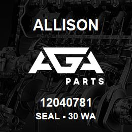 12040781 Allison SEAL - 30 WA | AGA Parts
