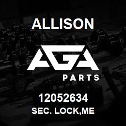 12052634 Allison SEC. LOCK,ME | AGA Parts