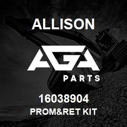 16038904 Allison PROM&RET KIT | AGA Parts