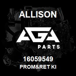 16059549 Allison PROM&RET KI | AGA Parts