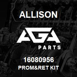 16080956 Allison PROM&RET KIT | AGA Parts