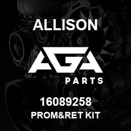 16089258 Allison PROM&RET KIT | AGA Parts