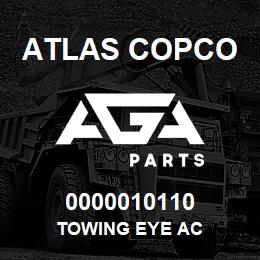 0000010110 Atlas Copco TOWING EYE AC | AGA Parts