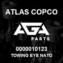 0000010123 Atlas Copco TOWING EYE NATO | AGA Parts