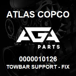 0000010126 Atlas Copco TOWBAR SUPPORT - FIXED LEG | AGA Parts