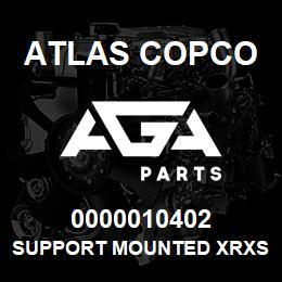 0000010402 Atlas Copco SUPPORT MOUNTED XRXS-XRVS   AGA Parts