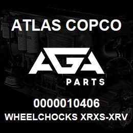 0000010406 Atlas Copco WHEELCHOCKS XRXS-XRVS | AGA Parts