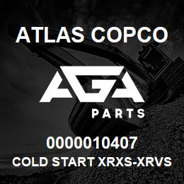 0000010407 Atlas Copco COLD START XRXS-XRVS | AGA Parts