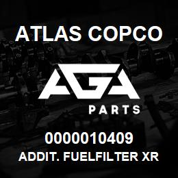 0000010409 Atlas Copco ADDIT. FUELFILTER XRXS-XRVS | AGA Parts