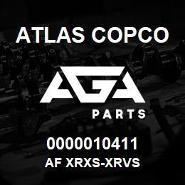 0000010411 Atlas Copco AF XRXS-XRVS | AGA Parts