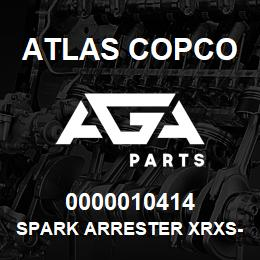 0000010414 Atlas Copco SPARK ARRESTER XRXS-XRVS | AGA Parts