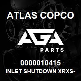 0000010415 Atlas Copco INLET SHUTDOWN XRXS-XRVS | AGA Parts