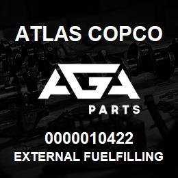 0000010422 Atlas Copco EXTERNAL FUELFILLING XRXS-XRVS | AGA Parts