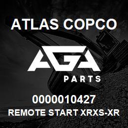 0000010427 Atlas Copco REMOTE START XRXS-XRVS | AGA Parts