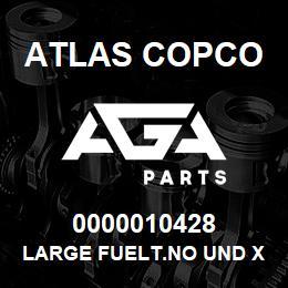 0000010428 Atlas Copco LARGE FUELT.NO UND XRXS-XRVS | AGA Parts