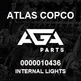 0000010436 Atlas Copco INTERNAL LIGHTS | AGA Parts