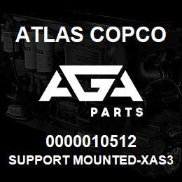 0000010512 Atlas Copco SUPPORT MOUNTED-XAS37-47 | AGA Parts