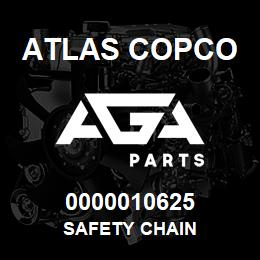 0000010625 Atlas Copco SAFETY CHAIN | AGA Parts