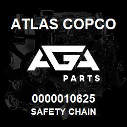 0000010625 Atlas Copco SAFETY CHAIN | AGA Parts