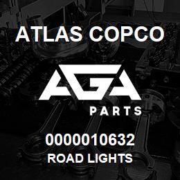 0000010632 Atlas Copco ROAD LIGHTS | AGA Parts
