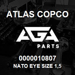 0000010807 Atlas Copco NATO EYE SIZE 1,5 | AGA Parts