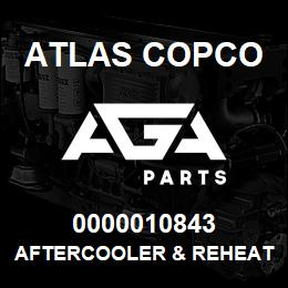 0000010843 Atlas Copco AFTERCOOLER & REHEATER | AGA Parts