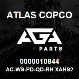0000010844 Atlas Copco AC-WS-PD-QD-RH XAHS236 | AGA Parts