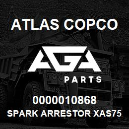 0000010868 Atlas Copco SPARK ARRESTOR XAS756 | AGA Parts