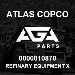 0000010870 Atlas Copco REFINARY EQUIPMENT XAS756 | AGA Parts