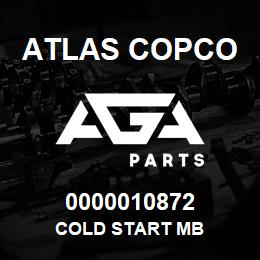 0000010872 Atlas Copco COLD START MB | AGA Parts