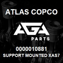 0000010881 Atlas Copco SUPPORT MOUNTED XAS756 | AGA Parts