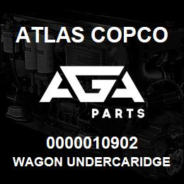 0000010902 Atlas Copco WAGON UNDERCARIDGE | AGA Parts