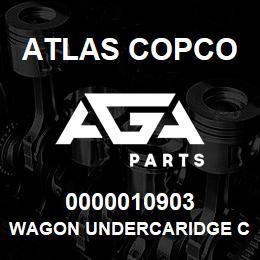 0000010903 Atlas Copco WAGON UNDERCARIDGE C13 | AGA Parts