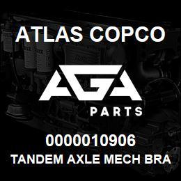 0000010906 Atlas Copco TANDEM AXLE MECH BRAKES | AGA Parts