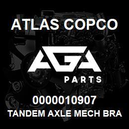 0000010907 Atlas Copco TANDEM AXLE MECH BRAKES C13 | AGA Parts
