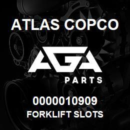 0000010909 Atlas Copco FORKLIFT SLOTS | AGA Parts