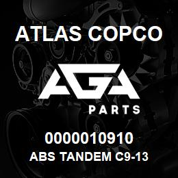 0000010910 Atlas Copco ABS TANDEM C9-13 | AGA Parts