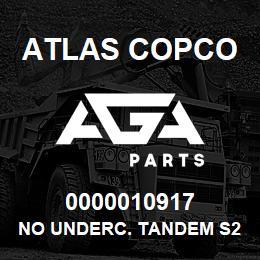 0000010917 Atlas Copco NO UNDERC. TANDEM S2 | AGA Parts