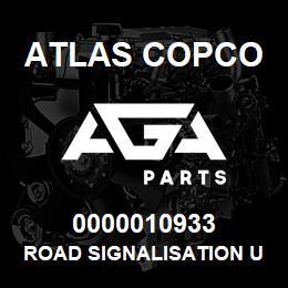 0000010933 Atlas Copco ROAD SIGNALISATION USA | AGA Parts