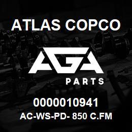 0000010941 Atlas Copco AC-WS-PD- 850 C.FM | AGA Parts
