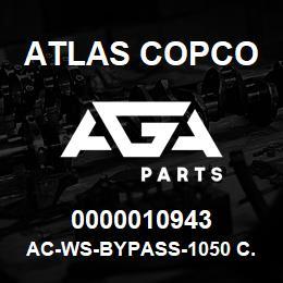 0000010943 Atlas Copco AC-WS-BYPASS-1050 C.FM | AGA Parts