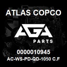 0000010945 Atlas Copco AC-WS-PD-QD-1050 C.FM | AGA Parts