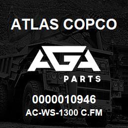 0000010946 Atlas Copco AC-WS-1300 C.FM | AGA Parts
