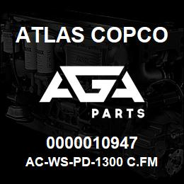 0000010947 Atlas Copco AC-WS-PD-1300 C.FM | AGA Parts
