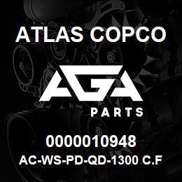 0000010948 Atlas Copco AC-WS-PD-QD-1300 C.FM | AGA Parts