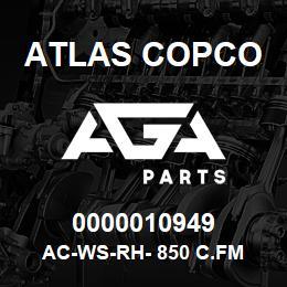 0000010949 Atlas Copco AC-WS-RH- 850 C.FM | AGA Parts